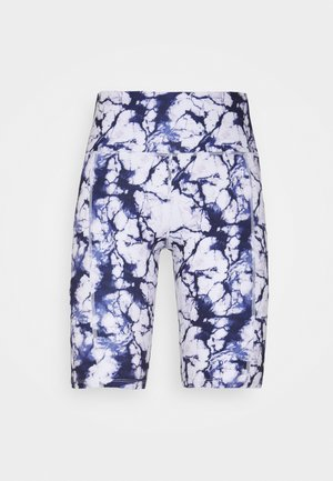 CYCLING SHORT MARBLE - Medias - snow white