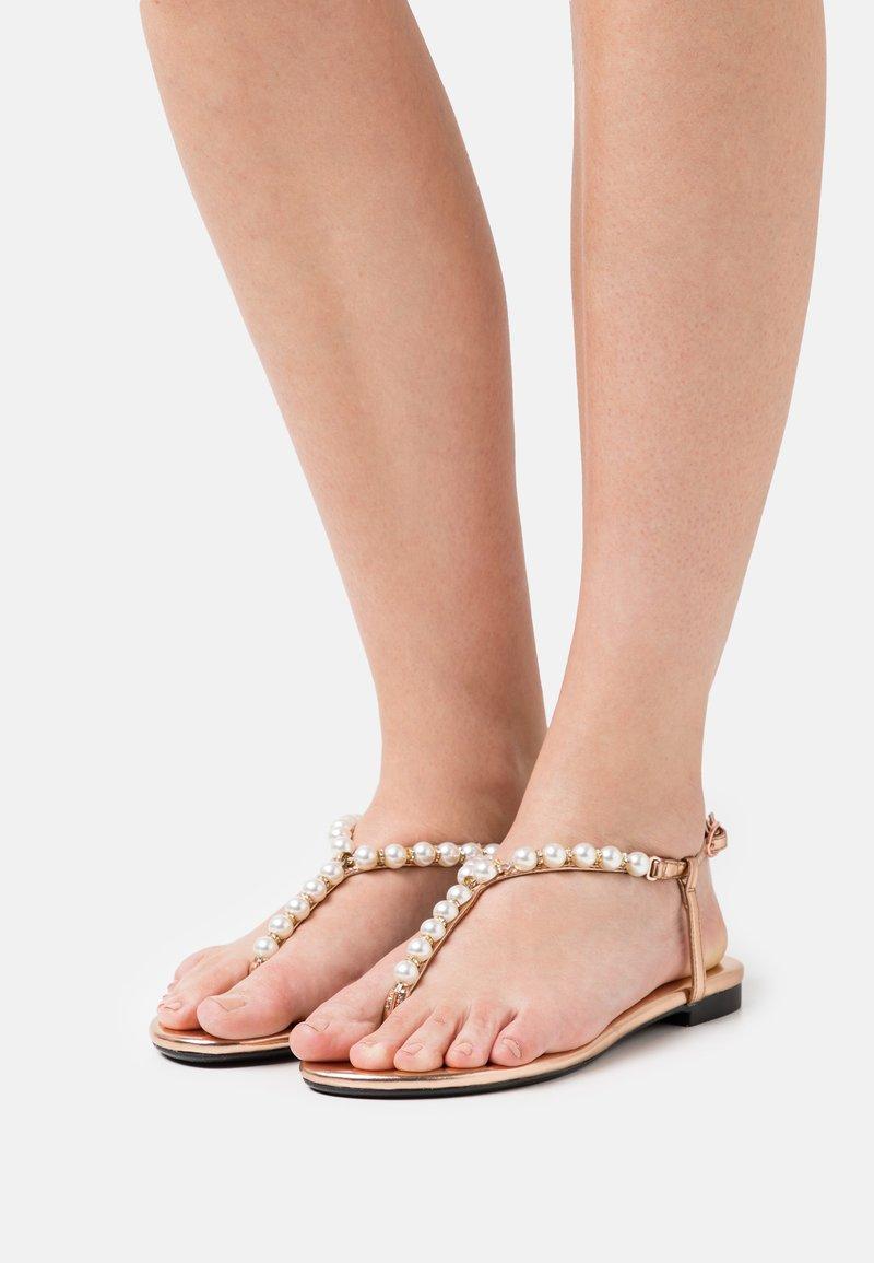 Anna Field - T-bar sandals - rose gold