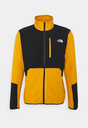GLACIER PRO FULL ZIP - Fleece jacket - citrine yellow/black