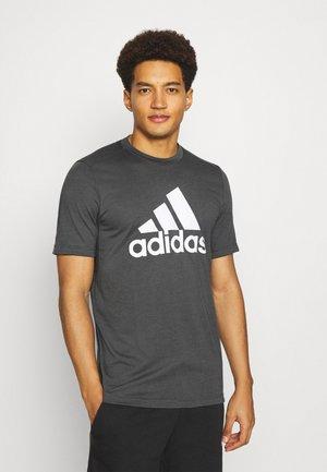 T-shirt z nadrukiem - gresix/white