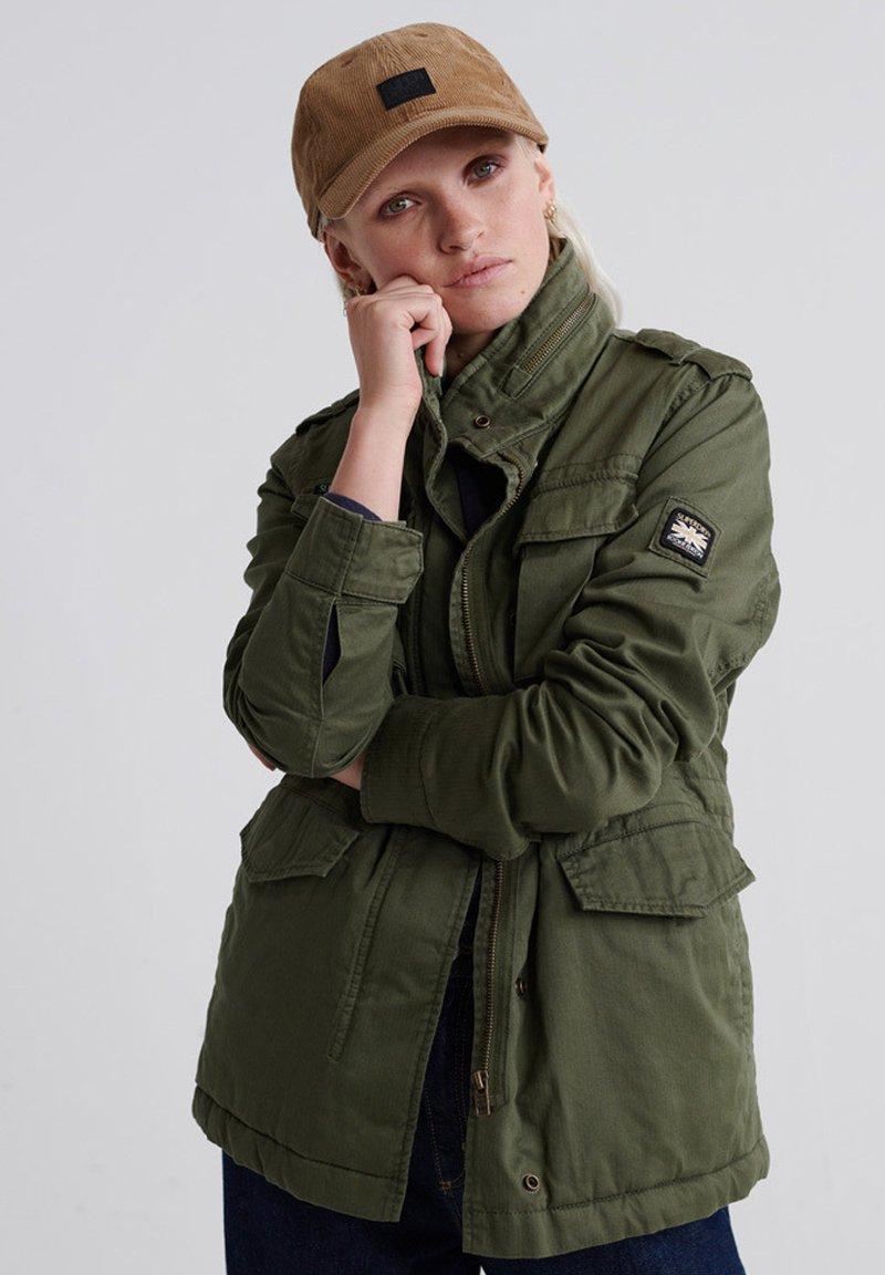 Superdry - Summer jacket - chive