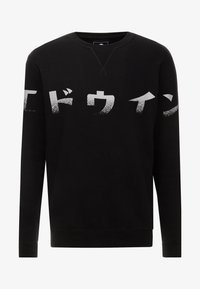 Edwin - IMPRINT BASE CREW - Sweatshirt - black - 3