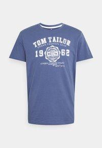 LOGO TEE - Print T-shirt - light indigo blue