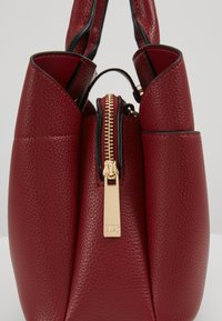 Dune London - DINIDARING SMALL UNLINED - Across body bag - oxblood red - 6