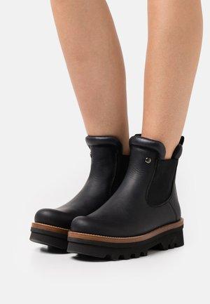 MACAO  - Platform ankle boots - black