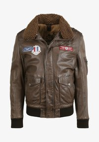 Gipsy - CRUISE - Leather jacket - dark brown - 3