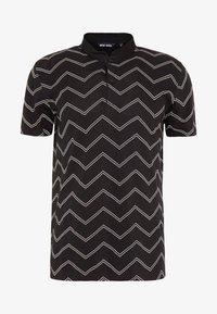 KOREAN COLLAR - Polo shirt - black