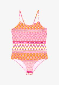 Sunuva - GIRLS BLOCK PRINT - Swimsuit - sherbert pink - 2