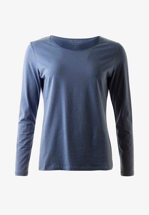 PIMA  ARCHIE - Långärmad tröja - denim
