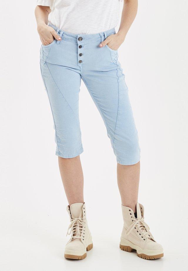 PZROSITA  - Denim shorts - light blue
