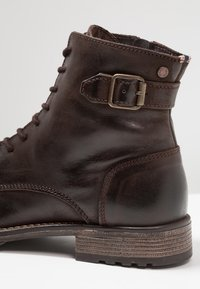 Jack & Jones - JFWSITI - Lace-up ankle boots - brown stone - 5