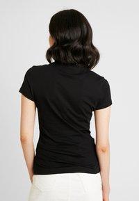 Guess - Basic T-shirt - jet black - 2