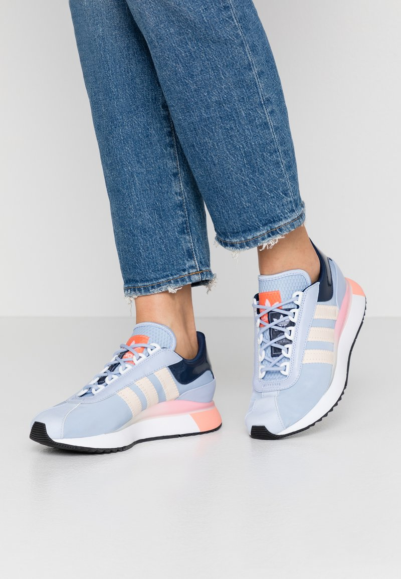 adidas Originals - SL ANDRIDGE - Sneakers - periwinkle/true pink