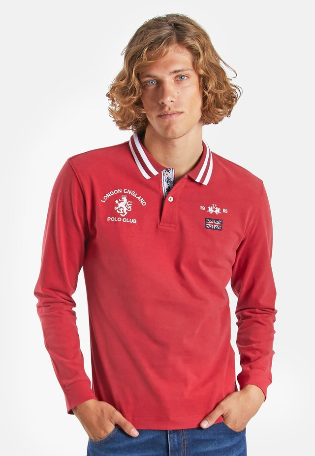 ORACLE - Polo shirt - red