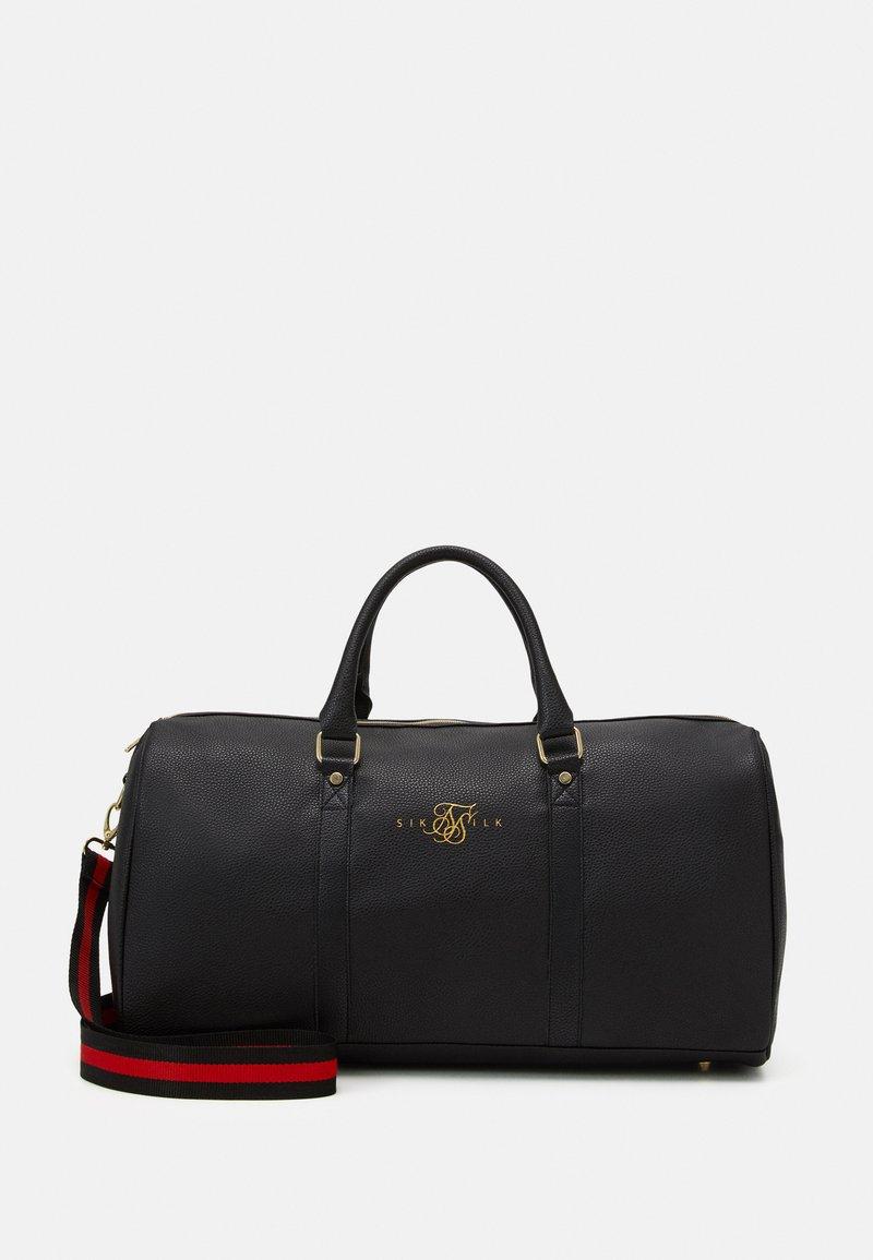 SIKSILK - HOLDALL - Weekend bag - black