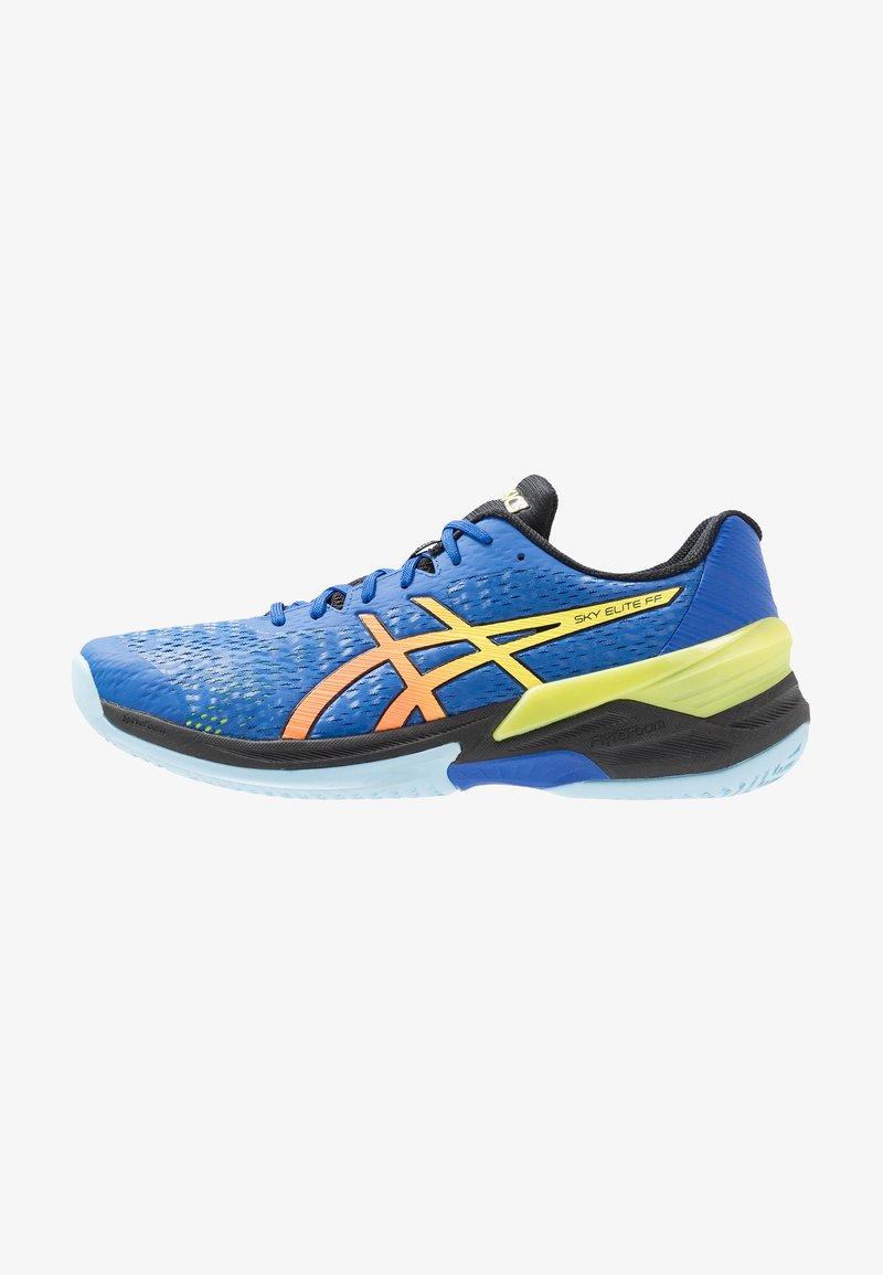 ASICS - SKY ELITE FF - Chaussures de volley - blue/sour yuzu