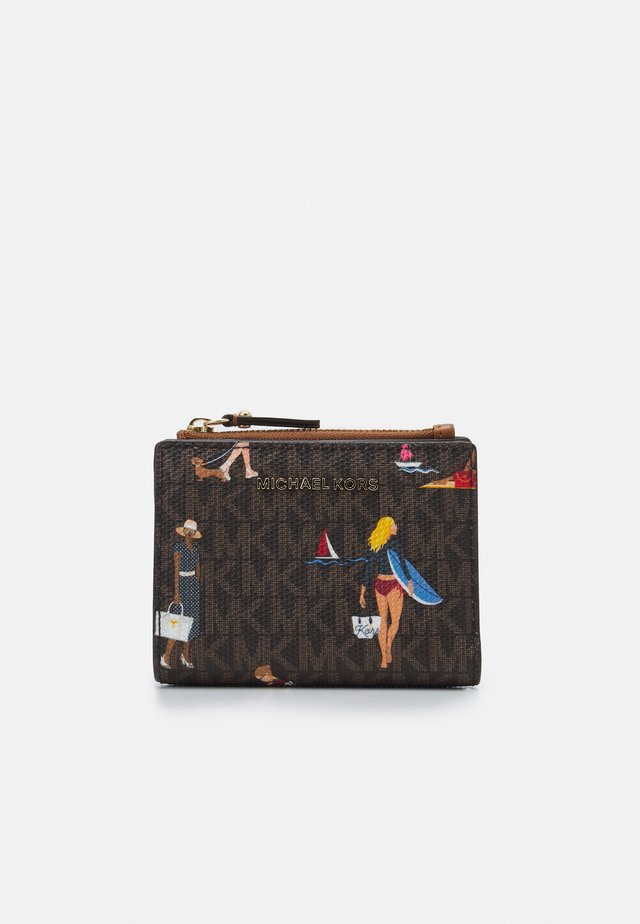 JET SET SNAP BILLFOLD - Wallet - brown/multi