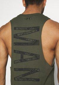 Under Armour - PROJECT ROCK MANA TANK - Top - guardian green/black - 4