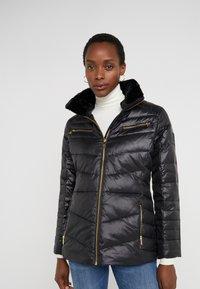 Lauren Ralph Lauren - COAT ZIPPERS - Doudoune - black - 0