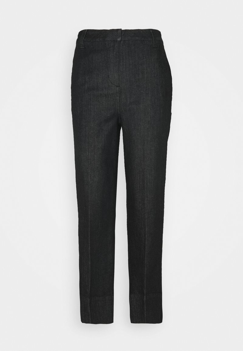 Opus - MILA  - Straight leg jeans - deep black