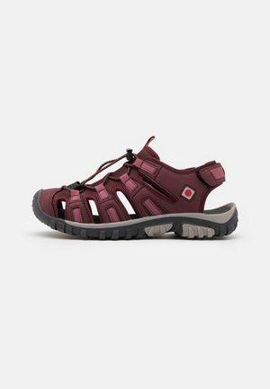 COVE SPORT WOMENS - Walking sandals - grape/graphite