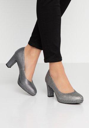 Zapatos de plataforma - silver