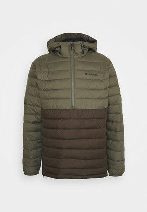 POWDER LITE™ ANORAK - Winter jacket - olive green/stone green