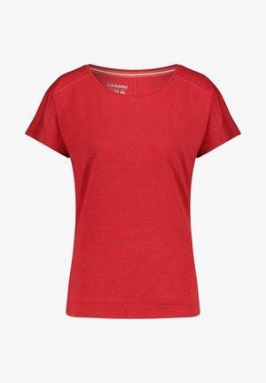 """SCHÖFFEL DAMEN T-SHIRT """"RIESSERSEE2"""" - Basic T-shirt - rot (500)"""