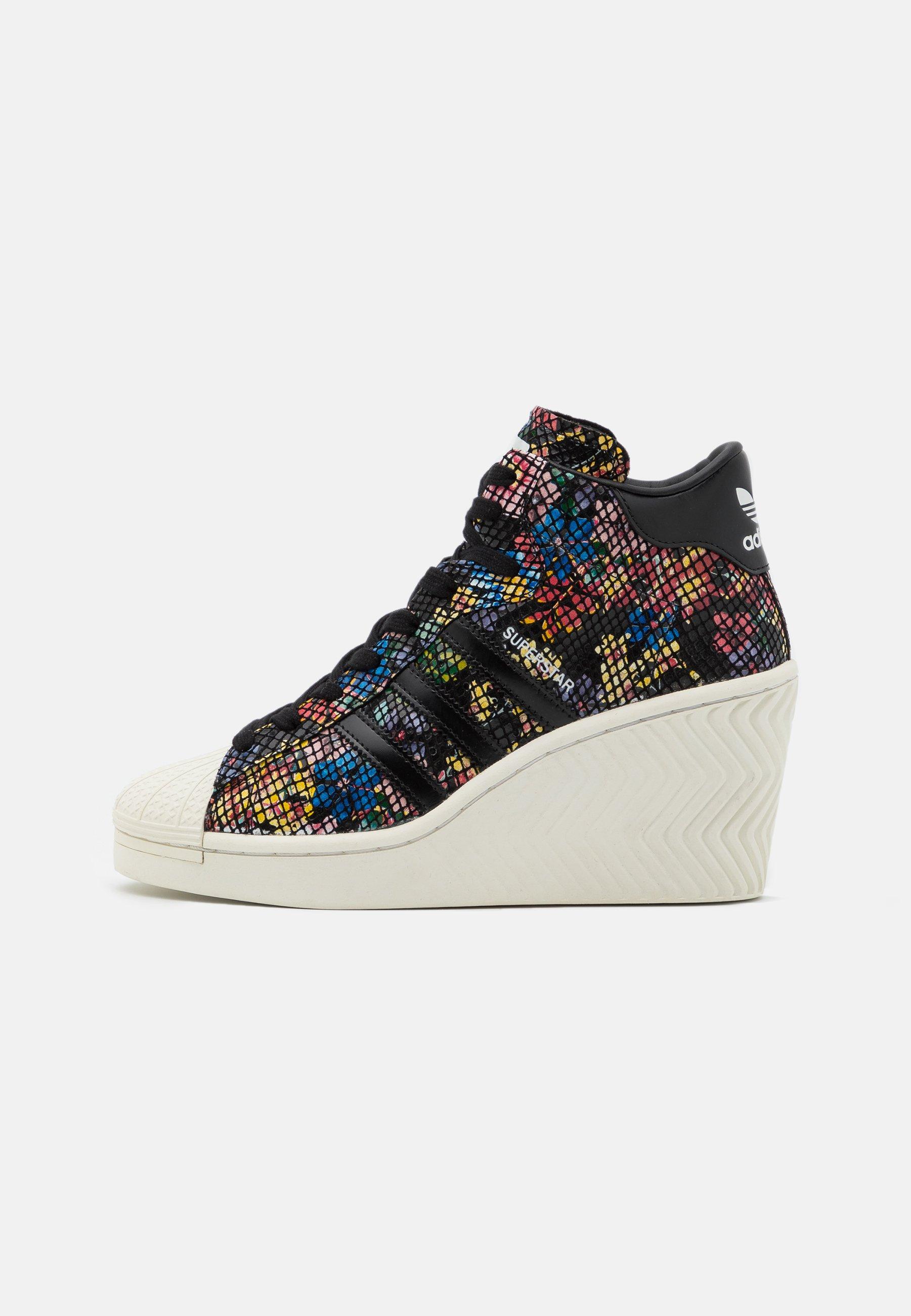 SUPERSTAR ELLURE Sneaker high core blackoffwhitered