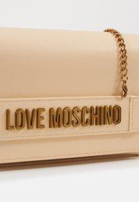 Love Moschino - BORSA - Across body bag - nude - 4