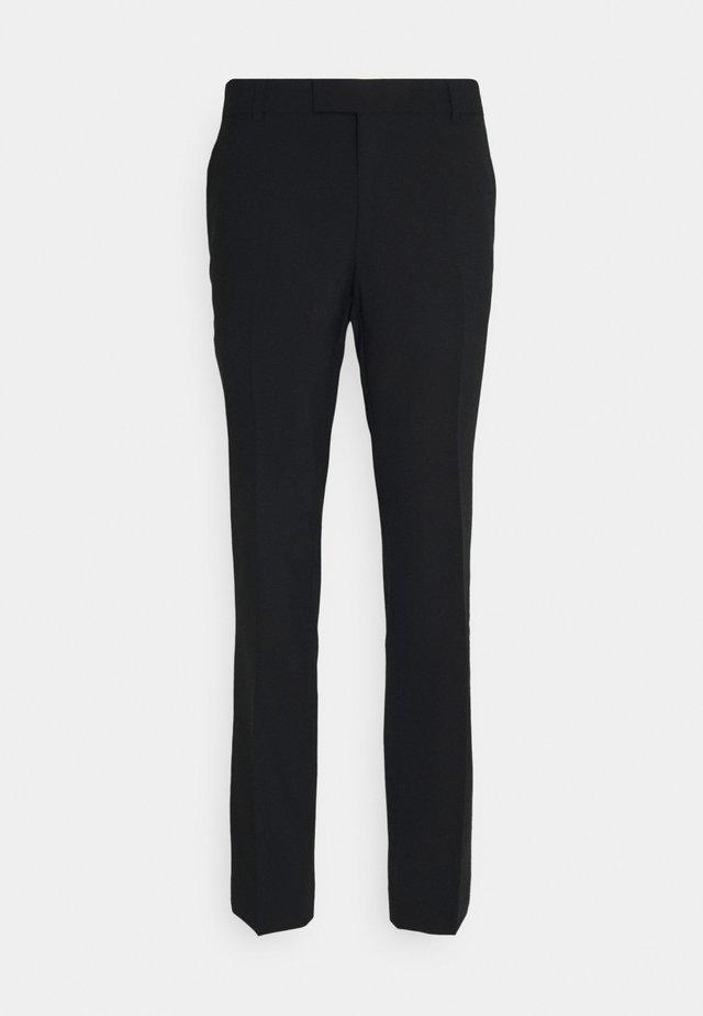 ACTIVE SUIT - Pantalon de costume - black