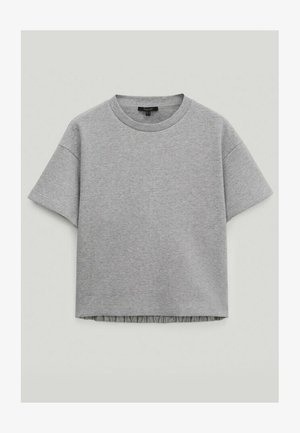 Basic T-shirt - light grey