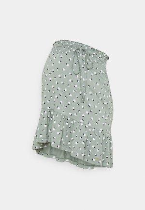 SKIRT - A-line skirt - grey moss