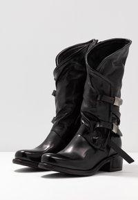 A.S.98 - Kovbojské/motorkářské boty - nero - 4