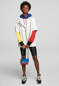 KARL LAGERFELD - Leather jacket - white - 1