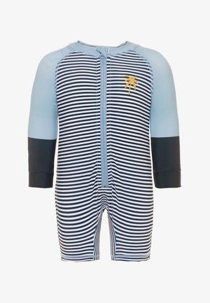 HARRIS ONE PIECE BABY - Swimsuit - mottled blue
