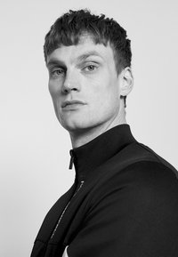 KARL LAGERFELD - ZIP JACKET - Mikina na zip - black - 3