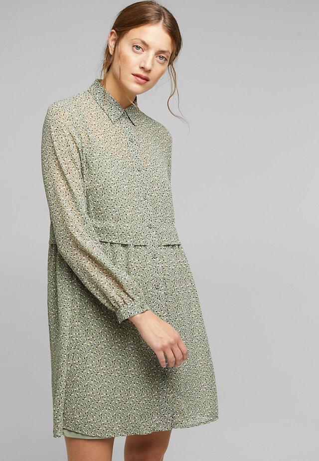 FASHION - Skjortekjole - light khaki
