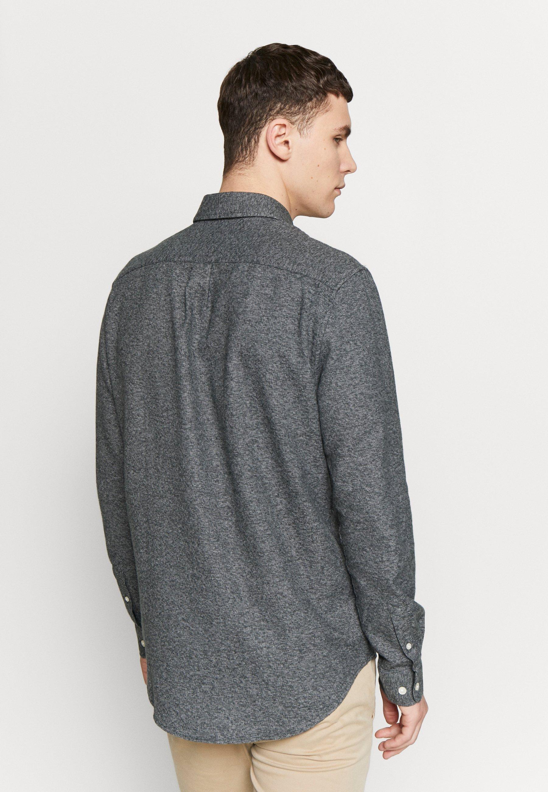 Il più economico Abbigliamento da uomo Samsøe Samsøe LIAM Camicia deep forest