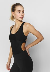 Nike Performance - CITY RUN BODY SUIT - Danspakje - black - 0