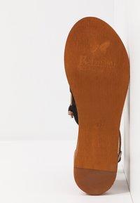 Felmini - CAROLINA  - T-bar sandals - black - 6