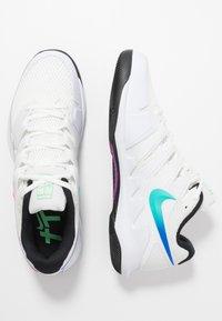 Nike Performance - AIR ZOOM VAPOR X - Tenisové boty na všechny povrchy - summit white/white/black/electro green - 1