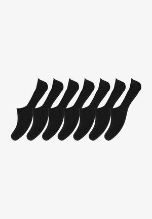 7-PACK - Enkelsokken - black