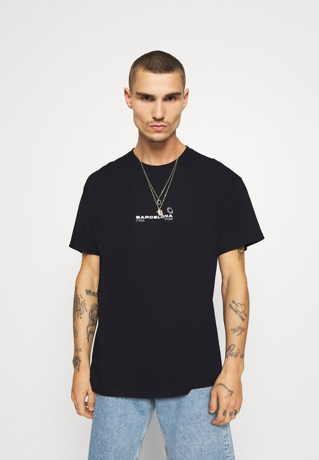 BARCELONA PRINT TEE - T-shirts med print - black