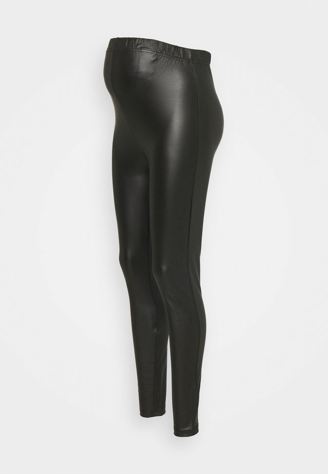 PCMNEW SHINY - Leggings - black