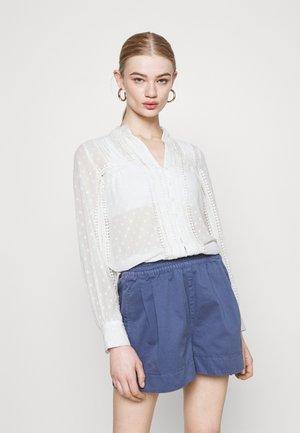 ONLBAILEY LIFE - Button-down blouse - cloud dancer
