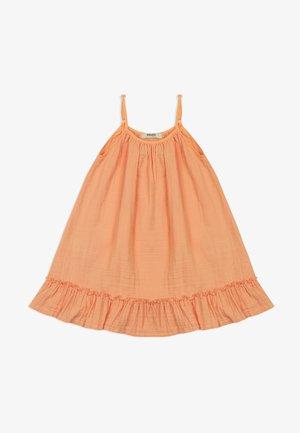 AUS MUSSELINSTOFF - Day dress - orange