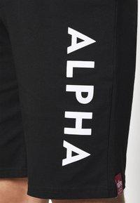 Alpha Industries - LIGHT - Verryttelyhousut - black - 3