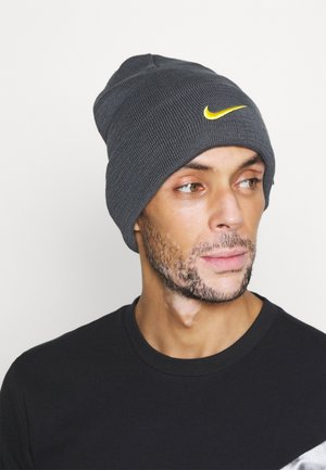 INTER MAILAND DRY BEANIE - Mössa - dark grey/tour yellow