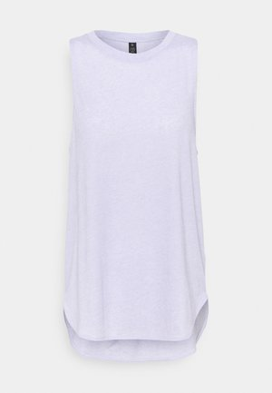 MATERNITY ACTIVE CURVE TANK - Topper - chalky lavender
